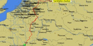 Berlin to Chalon sur Saone 20.08.14 to 1.10.14