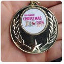 Aware run medal