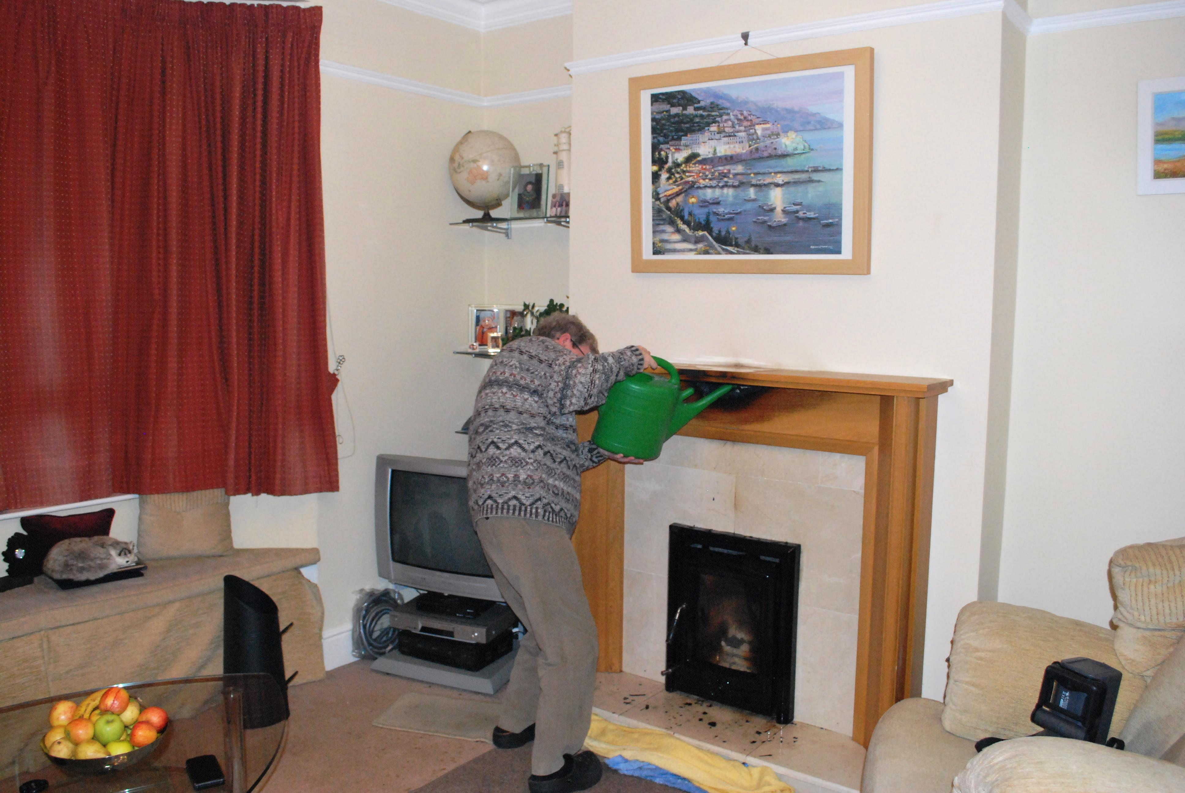 fire in the house adrian and nuala u0027s gap year