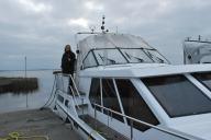 Nuala on Boat