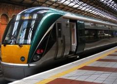 Sligo train ( photo courtesy of Irish Rail)