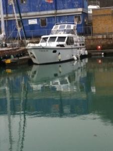 C'est la Vie in the water at Dover