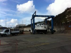 Boat arrives in Dover