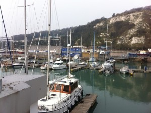 All quiet in Dover this morning