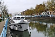 Boat at Quay de la Barque Douai