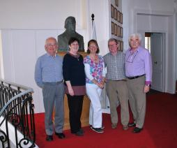 The Irish Group -  Liam Fitzpatrick, Rose McGowan, Nuala, Adrian, Brian O Reilly