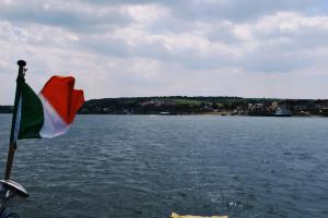 How wide the Rhine can be- like being on the sea