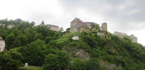 Rheinfels Castle dominates St Goar