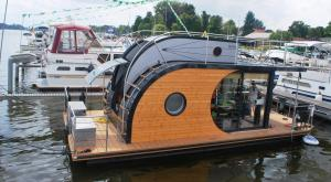 House Boat - floating house with outboard engine - many for rent all over lakes