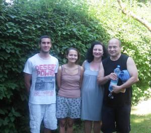 R/L  Uwe, Heike, Nina and her boyfriend