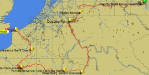 Full Route Completed 25-03-2014 to 13-07-2014