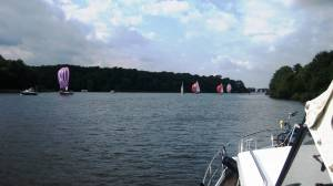 Many boats on Havel See