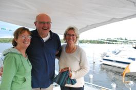 Wolfgang , Ully and Nuala- who helped write the German for sale signs for us