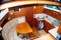Dinette - galley area