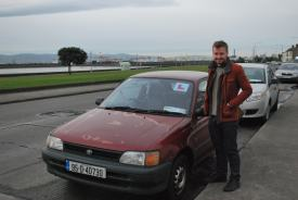 Marc and the reliable Starlet!