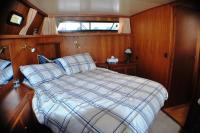 master cabin- free standing double bed