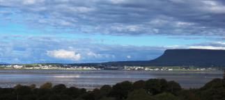 Sligo Bay with Benbulben Moutain - I forget sometimes how beautiful Sligo is