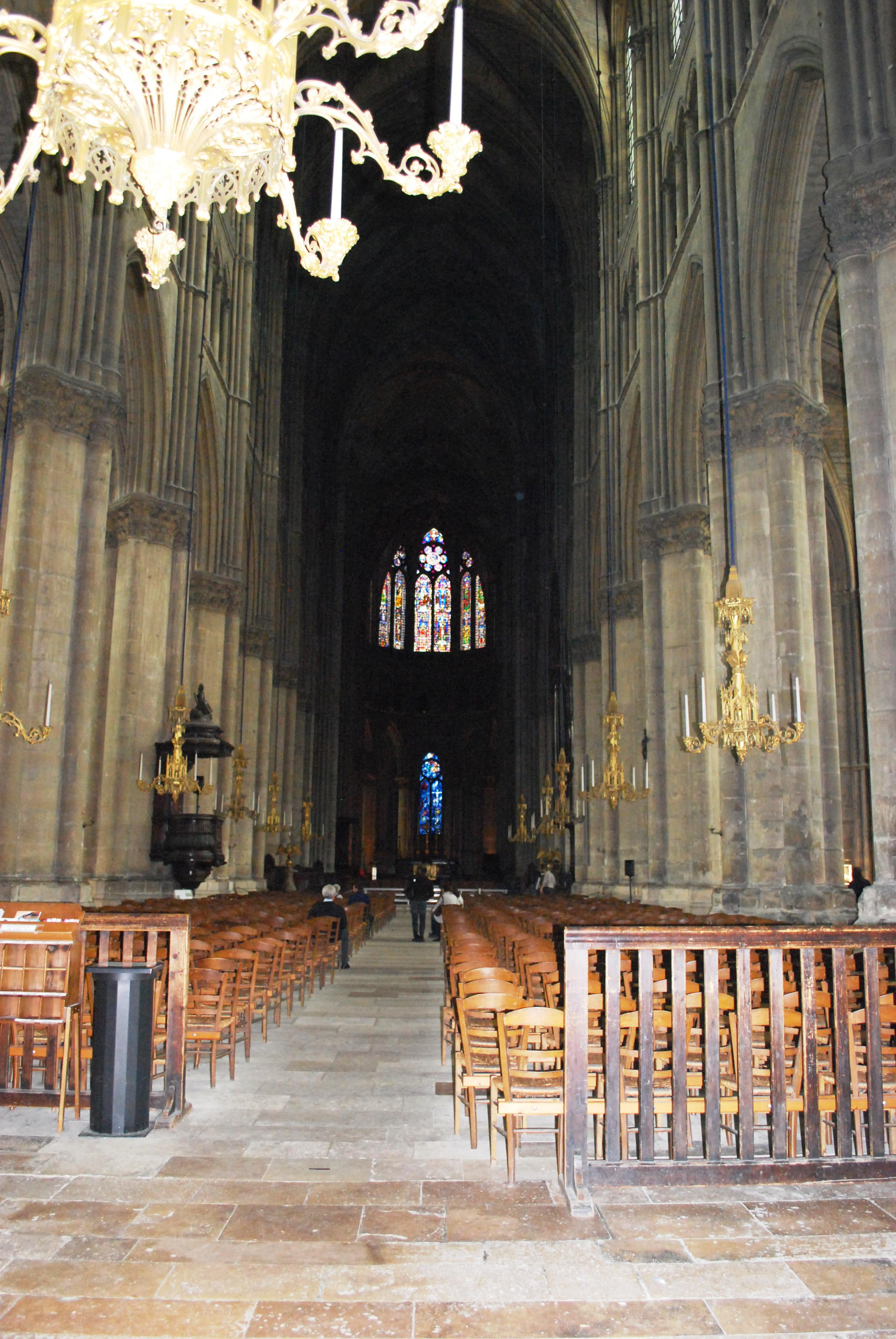 Cheap interior or reims cathedral with cora reims for Cora reims neuvillette