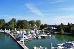 View of the Marina in Chalon