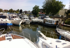 Boats for sale at H2O, St Jean de Losne