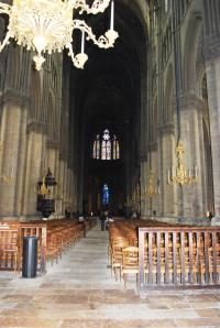 Interior or Reims Cathedral