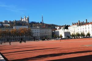 Place Bellecour - third largest public square in France