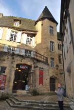 Manoir de Gisson Sarlat- restored medieval city mansion