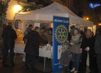 Rotary Christmas Fundraiser- selling hot drinks