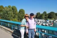 Adrian and Nuala at Chalon sur Saone