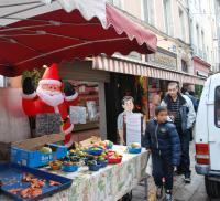 Santa at last Sunday's Market