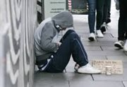 Homeless Person - photo courtesy of SVP
