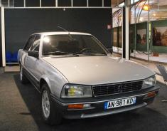 Peugeot 504 same model and colour as I had in the 1990's