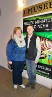 Nuala with Dan Ohlmann - the creator of the miniatures