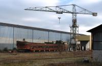 closed down barge repair yard