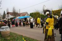 One of the lively bands who dressed up