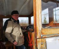 Adrian at the helm