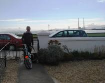 The Strida folding bike has been from home to Berlin and back